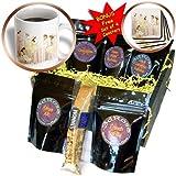 3dRose Florene Childrens Art, Tea Party, Coffee Gift Baskets