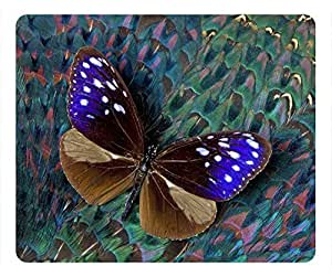 The beauty of the landscape butterfly oblong mouse pad by customized Cases & Mousepads