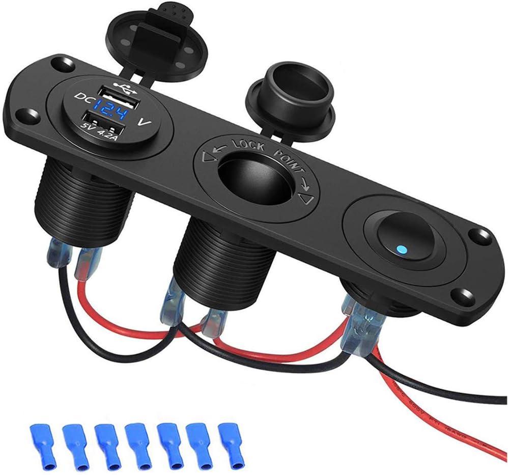Car Usb Socket Sonru Car Usb Charger 12 V Elektronik