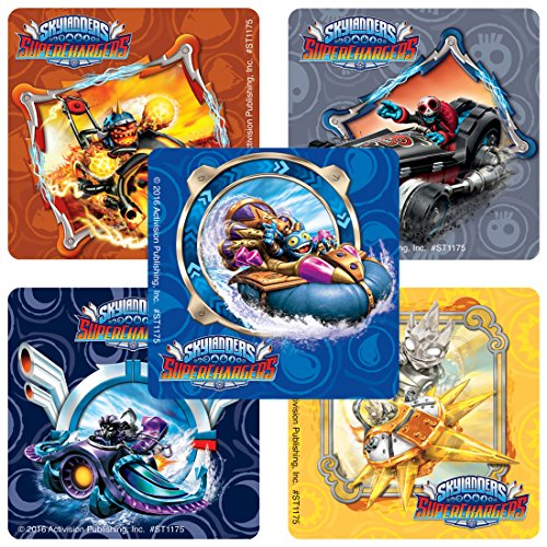 Skylanders Superchargers Stickers - Prizes and Giveaways - 75 per Pack