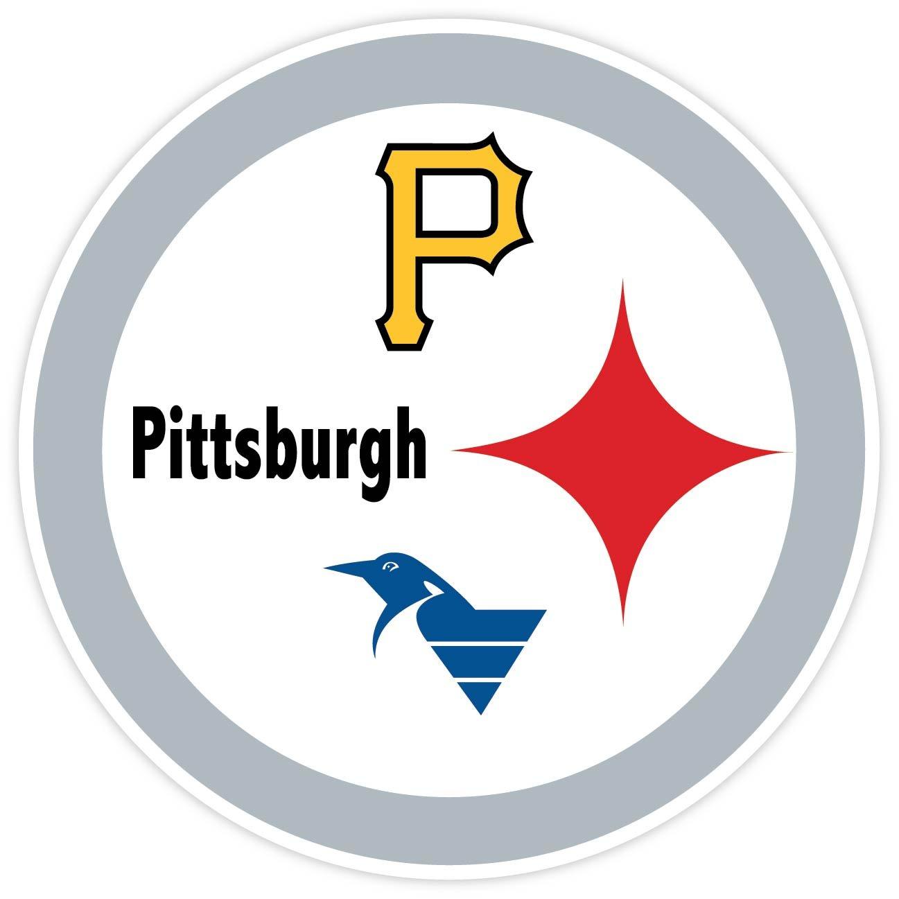 Amazoncom PITTSBURGH Fan Sport Logo X Sticker Decal Vinyl - Window decals for sports