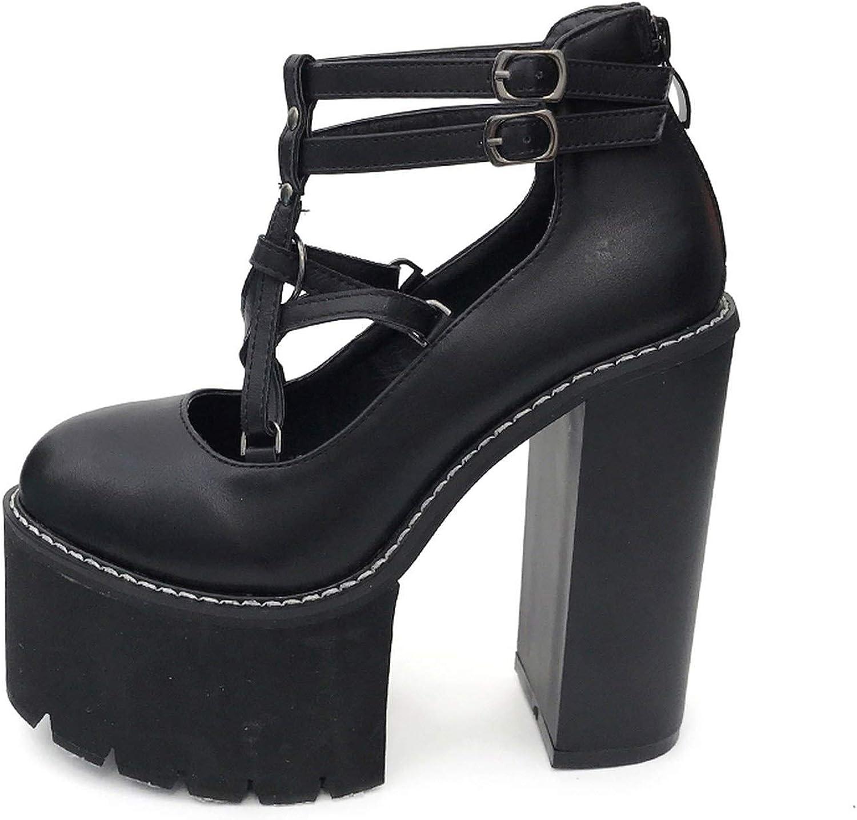 Fashion Women Pumps High Heels Zipper