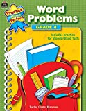 Word Problems Grade 4 (Practice Makes Perfect (Teacher Created Materials)) by Teacher Created Resources Staff (2002-03-01)