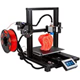 Monoprice MP10 Mini 3D Printer - Black with (200 x 200 mm) Magnetic Heated Build Plate