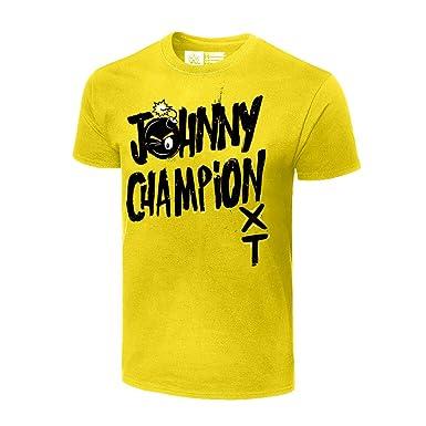 5fc2b8af Amazon.com: Johnny Gargano Johnny Champion Authentic T-Shirt: Clothing