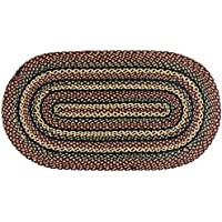 IHF Rugs Blackberry Oval Braided Rug - 3x5