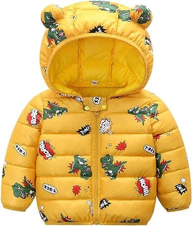 Chaqueta de Abajo para Beb/é Ni/ños Ni/ñas Abrigos de Plumas de Invierno Ligero Acolchado Abrigo