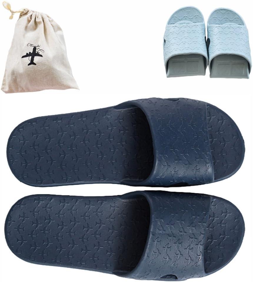 sac de rangement en tissu antid/érapantes Sandales de bain l/ég/ères et pliables