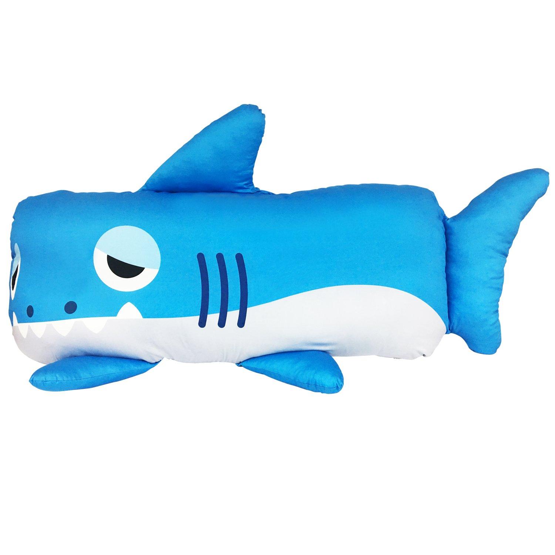 Monster park Wide Animal Pillowcase, Double Monster Pillowcase for Family (Sharkmon)