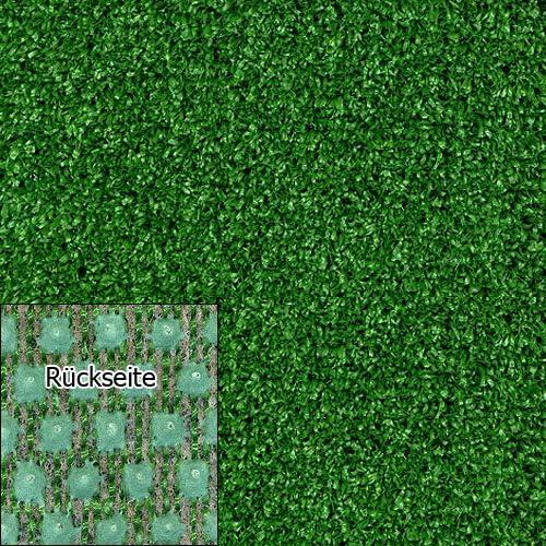 wasserdurchl/ässig verschiedene Gr/ö/ßen 200x150 cm mit Drainage-Noppen Kunstrasen Rasenteppich Tuft Exclusiv 10mm gr/ün Meterware hohe UV-Best/ändigkeit