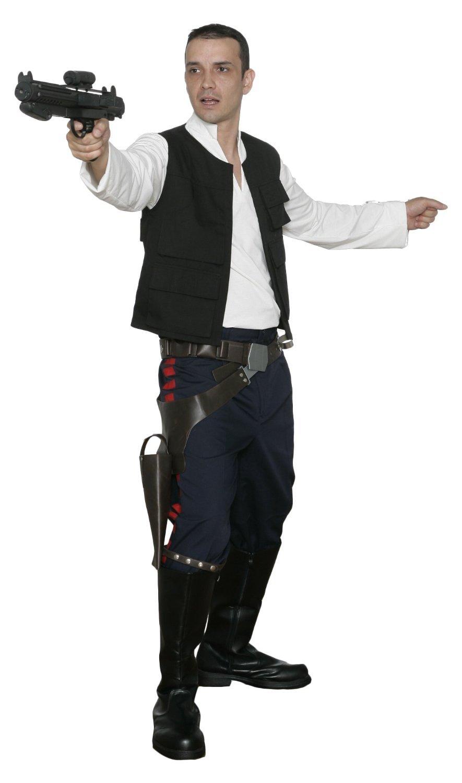 Jedi-Robe Star Wars Han Solo Replik Kostüm - A New Hope - Schwarz, Herren XL B00J5FDI0K Kostüme für Erwachsene Für Ihre Wahl    Attraktives Aussehen