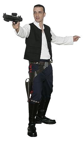 Jedi-Robe Star Wars HAN Solo Réplica Disfraz - A New Hope - Negro ...
