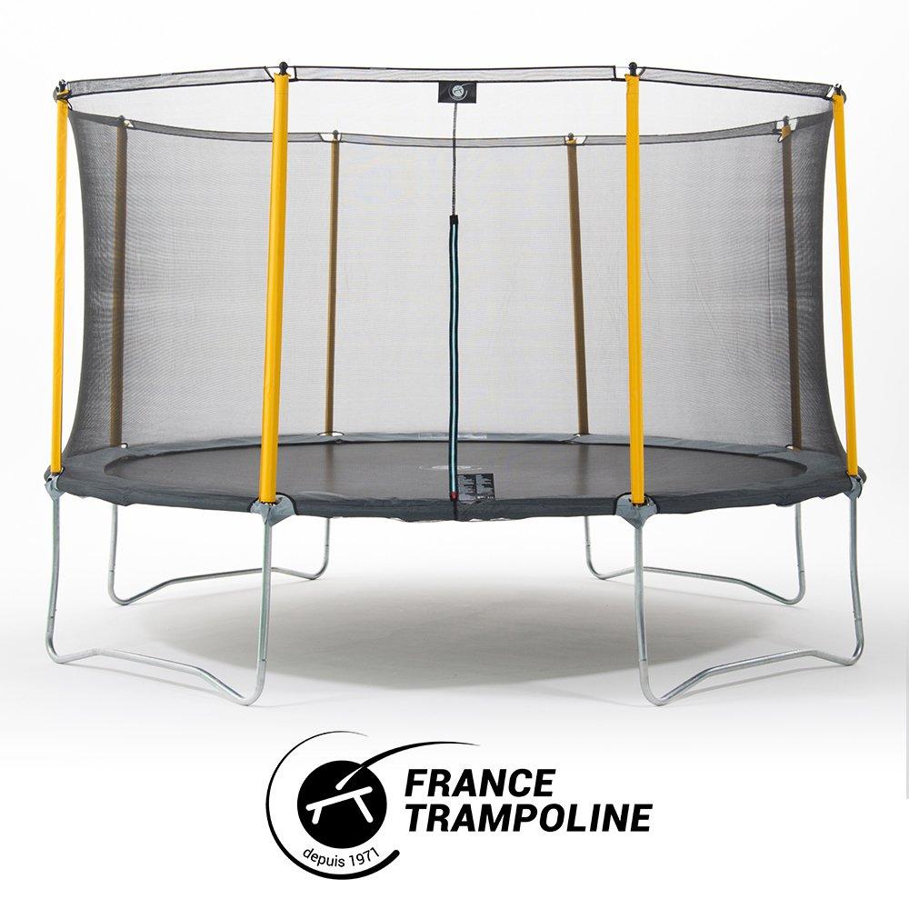 Frankreich Trampolin Trampolin Initio 3 M60 mit Schutznetz