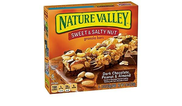 Nature Valley Granola Bars, Sweet and Salty Nut, Dark Chocolate Peanut & Almond