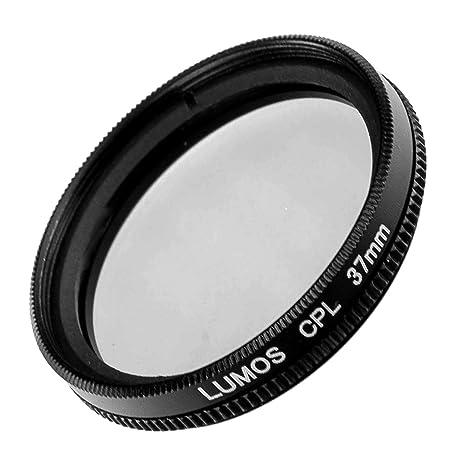 63e2858e70a024 LUMOS Filtre polarisant Circulaire polarisant CPL pour Appareil Photo avec  Monture métallique Fine