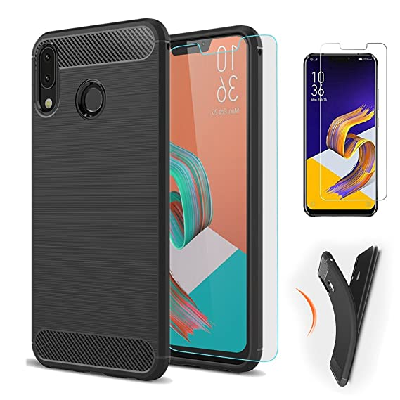 info for a08a1 02842 Asus Zenfone 5 ZE620KL/5Z ZS620KL Case, Best Share Premium Soft Silicone  Slim Fit Case Non-slip Scratch-resistant Shockproof Cover+Tempered Glass ...