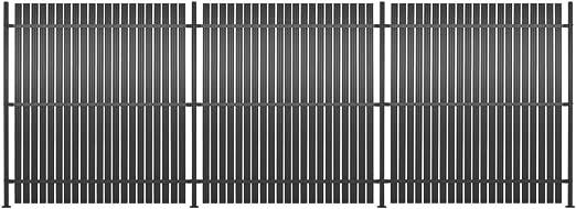 Festnight Panel de Valla de Aluminio Vallas para Jardin Metalicas ...