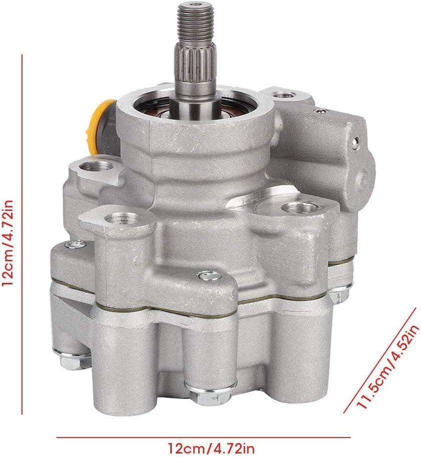 Qiilu Power Steering Pump Pump Power Assist Pump Fit for 1993 1994 1995 1996 1997 Geo Prizm 1993 1994 1995 1996 1997 Toyota Corolla 1.6L 1.8L 21-5875