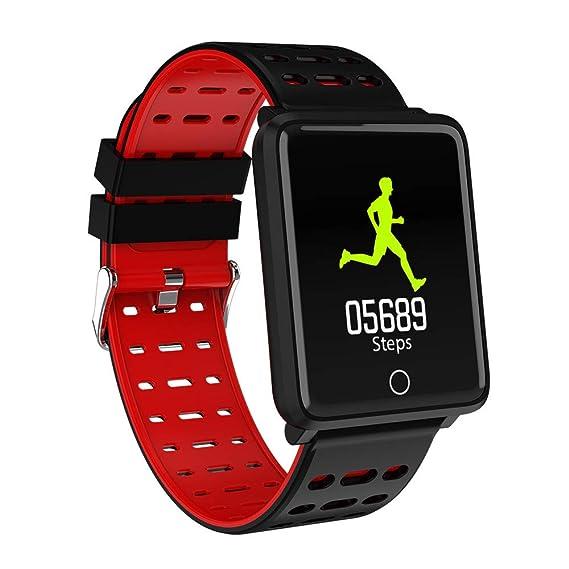 Hicoco Pulsera Actividad, Reloj Pulsera Inteligente con Pulsómetro Pulsera Deportiva y Monitor, Ritmo Cardíaco Monitor, IP68 Actividad Impermeable ...