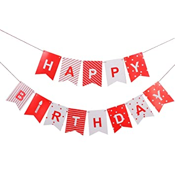 Pennant Banner For Birthday Party Lseng Birthday Banner