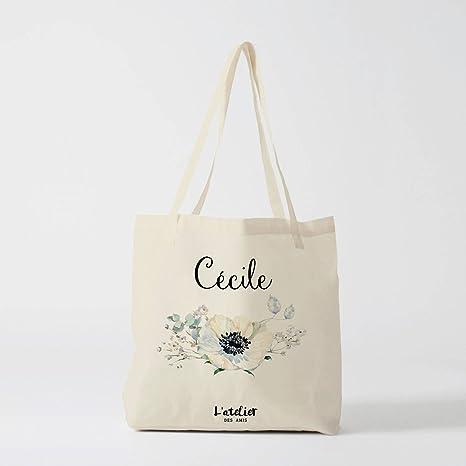 Amazon.com: Bolsa de lona personalizada para boda, bolsa de ...