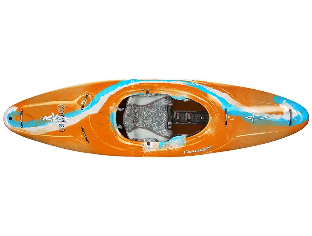 Dagger Mamba Versatile Whitewater Kayak, Blaze, 8.6 by Dagger