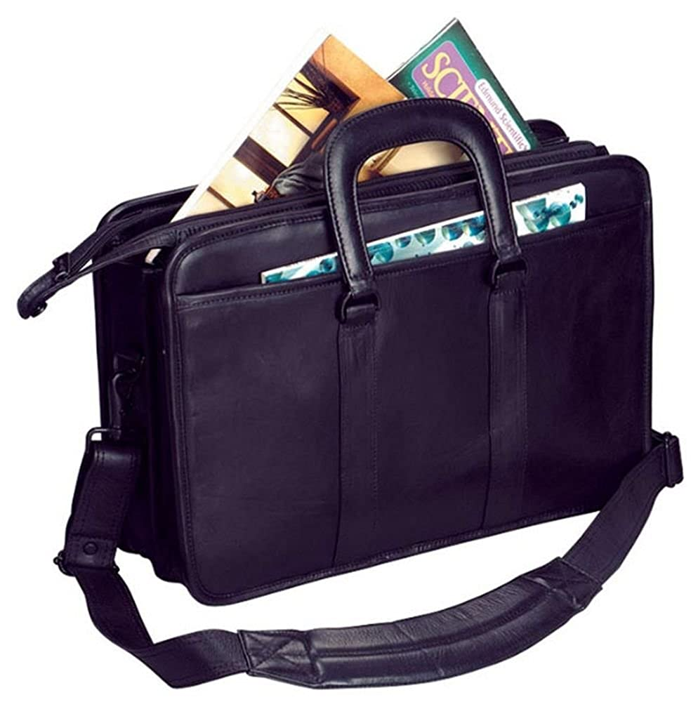 Winn International The Continental Harness Cowhide Leather Brief w// Drop Handles 2458
