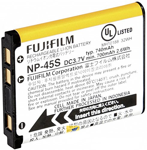 (Fujifilm NP-45S Lithium Ion Rechargeable Battery)