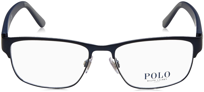 Polo Ralph Lauren - PH 1171, Rechteckig, Metall, Herrenbrillen, DARK ...