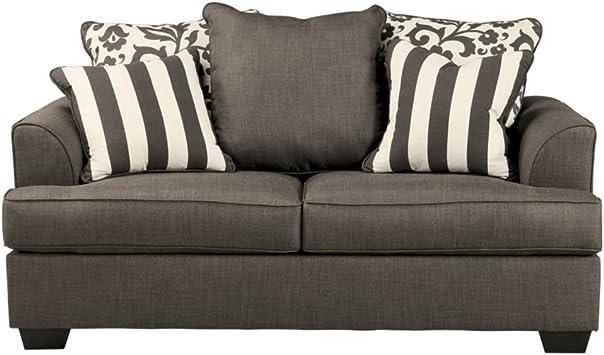 Amazon.com: Ashley diseño muebles Signature – Levon Loveseat ...