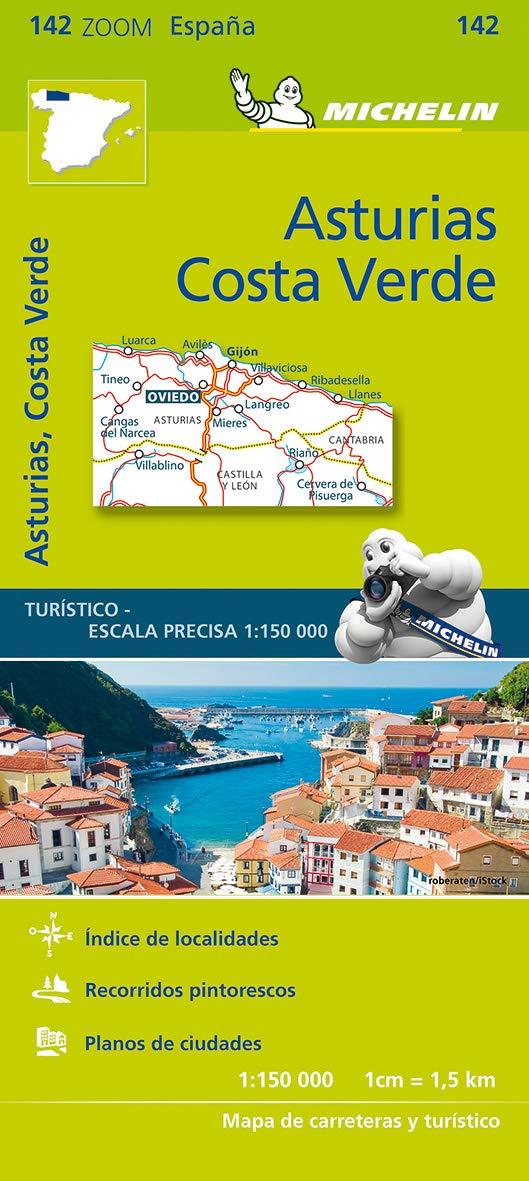 Mapa Zoom Asturias, Costa Verde (Mapas Zoom Michelin): Amazon.es: Vv.Aa, Vv.Aa: Libros