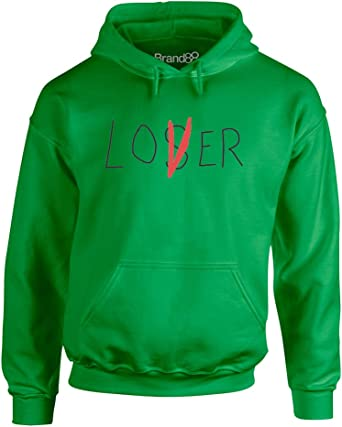 Brand88 Lover Not A Loser Adults Hoodie