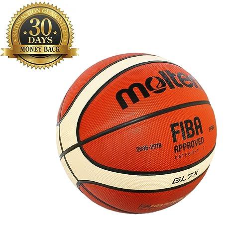Sports Factory GL7X Balón de Baloncesto Oficial tamaño 7 para ...
