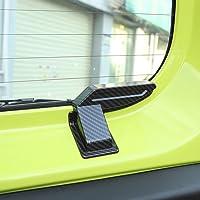 2 cubiertas protectoras de cable de calefacción para parabrisas trasero de ABS para Suzuki Jimny 2019 2020 JB64 JB74W…