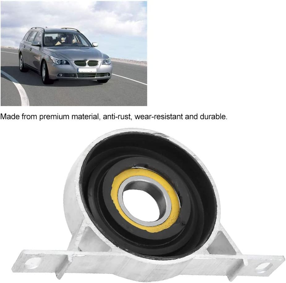 Rubber + aluminum alloy KIMISS Car Driveshaft Center Carrier Bearing Support for 525i 530xi X3 26127521855