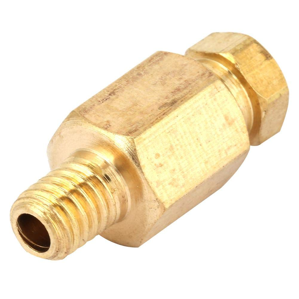 3# NPT Adapter,5pcs Brass Reducing Pipe Fitting NPT Adapter Oil Pipe Connector