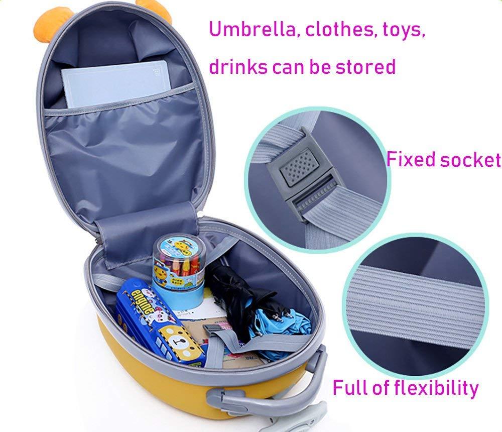 Hugmo Kids Travel Cabin Luggage (TIGER)
