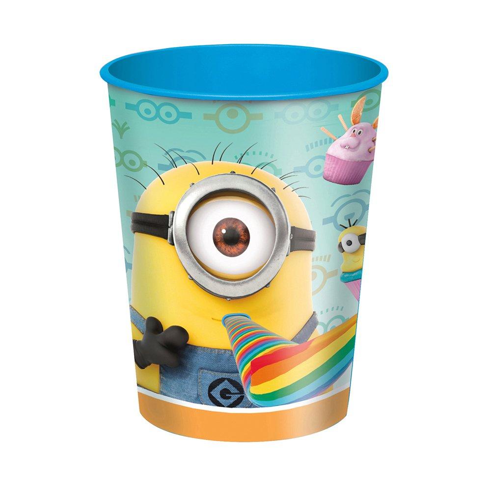 16oz Despicable Me Minions Plastic Cups, 12ct