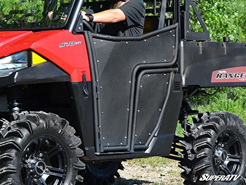 SuperATV Polaris Ranger Midsize 500 / 570 / ETX / EV Doors (2015+) - Pair of Front Doors