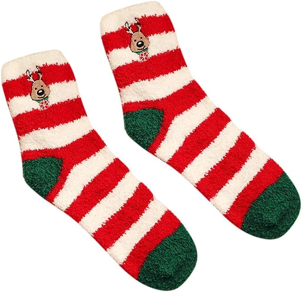 toraway socks Warm Winter Home socks Women Girl Soft Bed Floor Socks Christmas Sleeping Socks anti slip floor socks