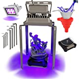 UV Curing Light Station Upgrade Kit for Resin 3D Printers with 405nm High Powered 60w Output Effect UV Light, Automatic…