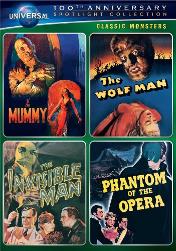 Classic Monsters Spotlight Collection (The Mummy (1932) / The Wolf Man / The Invisible Man / Phantom of the Opera ()