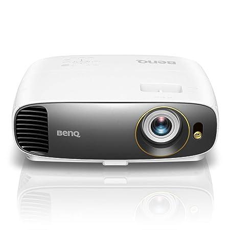 BenQ W1050 - Proyector doméstico DLP de 1080p (Rec. 709, 2200 lúmenes, alto contraste 15000:1, 1920 x 1080, tiro corto, 100 pulgadas a 3 m, HDMI, zoom ...