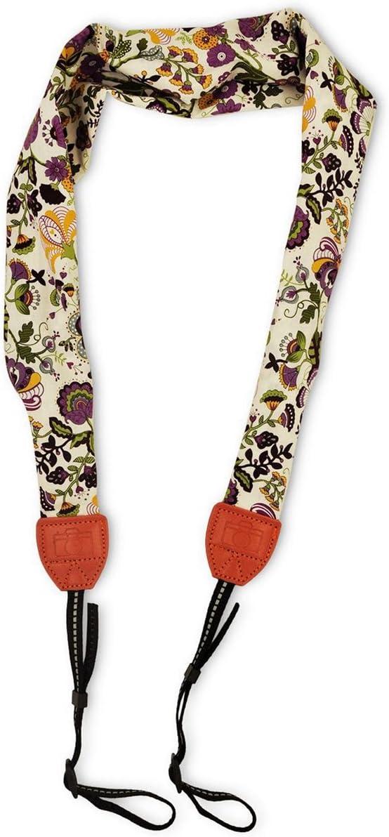 Scarf Camera Strap Camera Neck Shoulder Belt Bohemia Floral Vintage Print Band Colorful Universal Camera Straps
