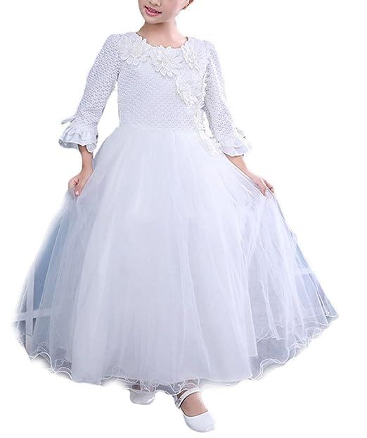 Los Niños De Otoño Y El Vestido De Invierno Flower Girl Vestido De Novia Vestido De