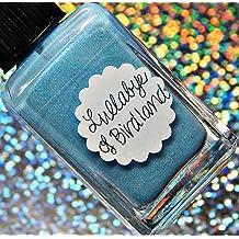 Lynnderella Limited Edition—Pastel Blue Shimmerella Nail Polish—Lullabye of Birdland