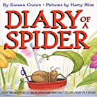 Diary of a Spider Audiobook by Doreen Cronin Narrated by Angus T. Jones