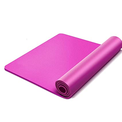 Amazon.com : Brave Rosemary Thickened 15mm Non-Slip Yoga ...