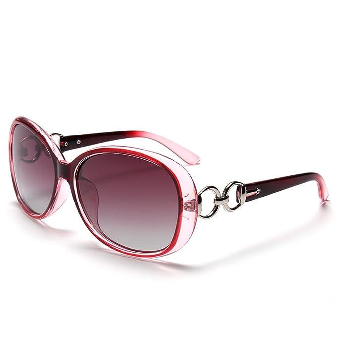 LQABW Moda Occhiali Da Sole Trendy Cornice Autista Occhiali Da Sole Per Le Donne,Black