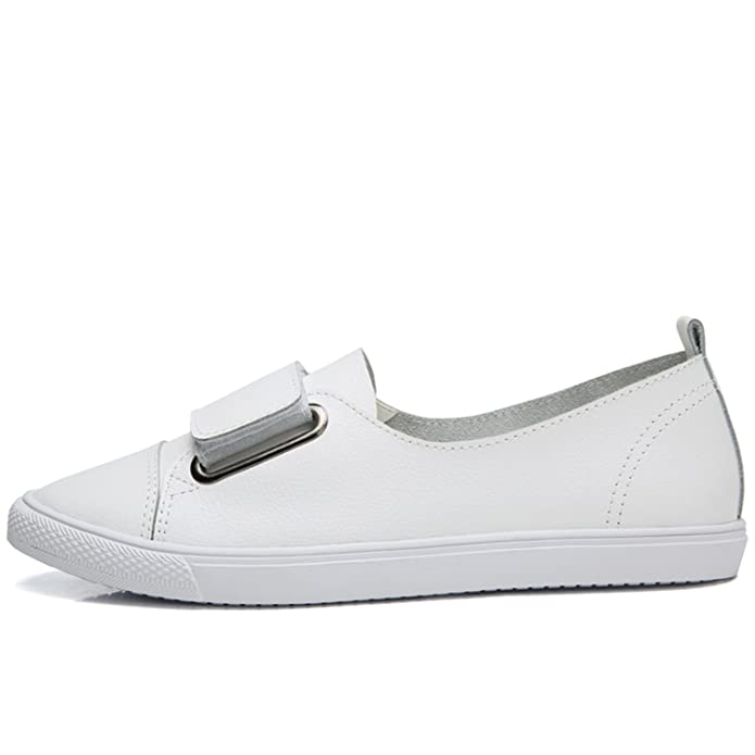 Amazon.com | Leather Women Casual Shoes Shoes Women Tenis Flats Loafers Women Platform Ladies Shoes | Shoes
